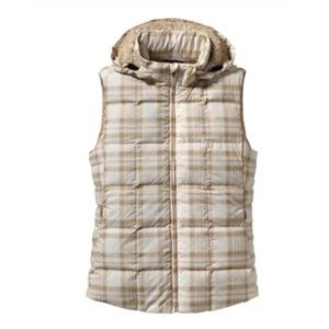 Women's Patagonia Down With It Vest | Wooly Plaid